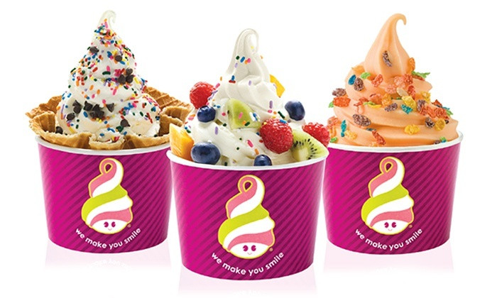 Menchie's Frozen Yogurt Fundraiser